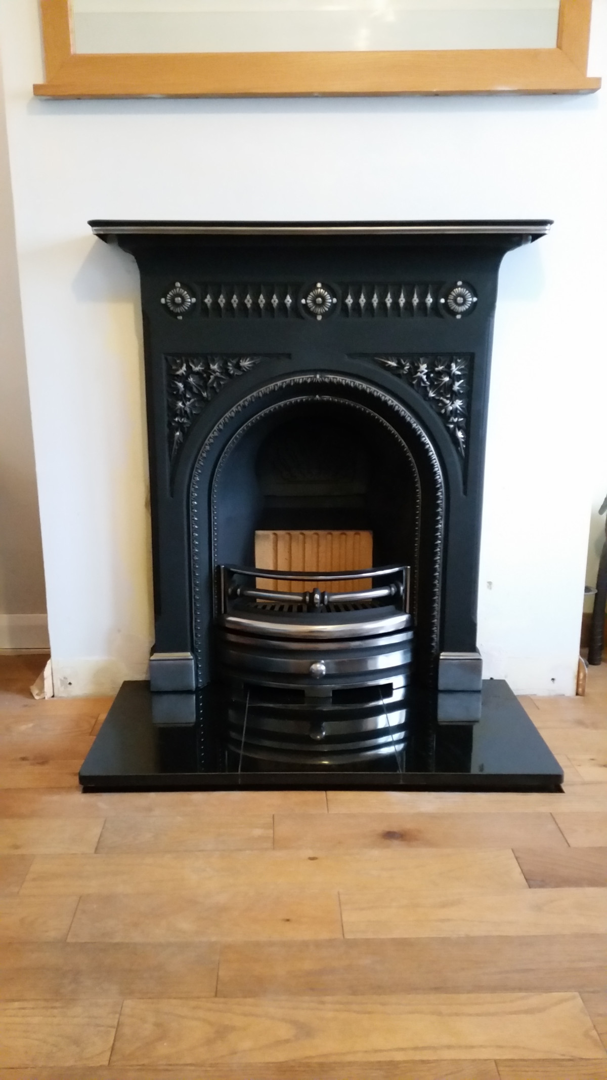 Harewood Hi-Light Cast Iron Gas Fireplace