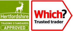 Which Logo and Herts Trusted Trader